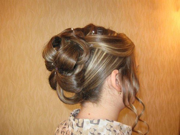 Вечерние прически для средних волос домашних условиях