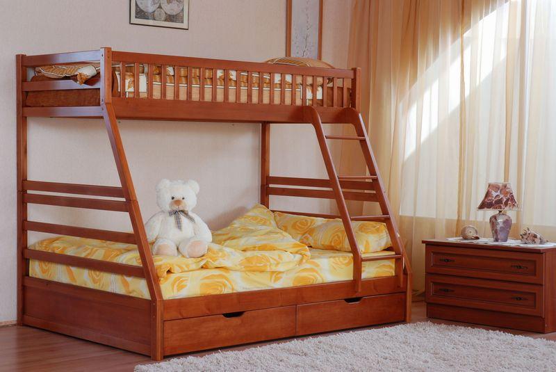Детские кровати двухъярусные, фото
