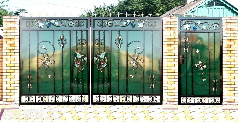 Калитки ворота фотогалерея схема электрическая ворот came